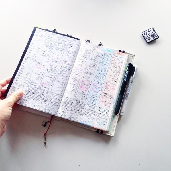 ジブン手帳の収納力。 の画像|なかむら真朱の「About A Notebooker」