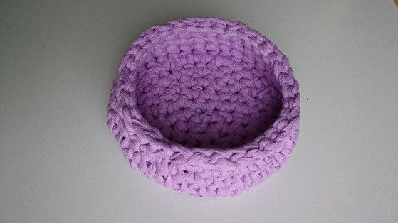 Utensilo aus Textilgarn von Den lille Kreativbutik auf DaWanda.com
