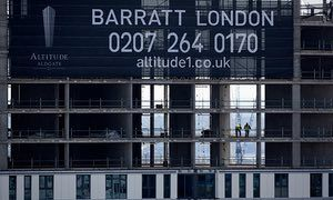 Barratt to pay out more to shareholders despite London sales slump | Business | The Guardian
