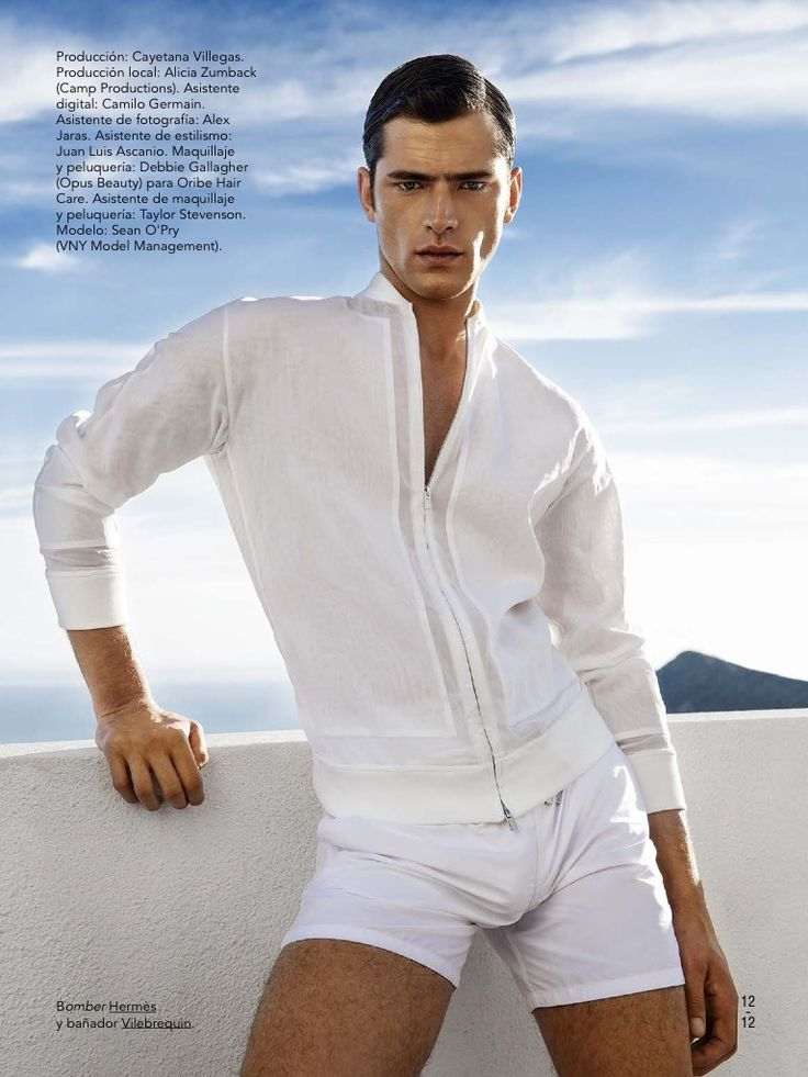 The Great OPry: Sean Models White Summer Fashions for May 2015 GQ Spain  ปล อื้มหืมมม