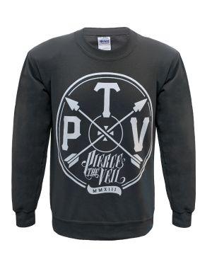 Pierce The Veil (Arrow) Charcoal Sweatshirt