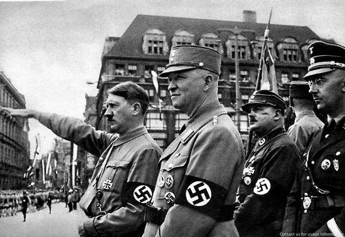 Adolf Hitler, Heinrich Himmler, Ernst Röhm, Dritte Reich, Nazi-Geschichte,  Der Zweite Weltkrieg