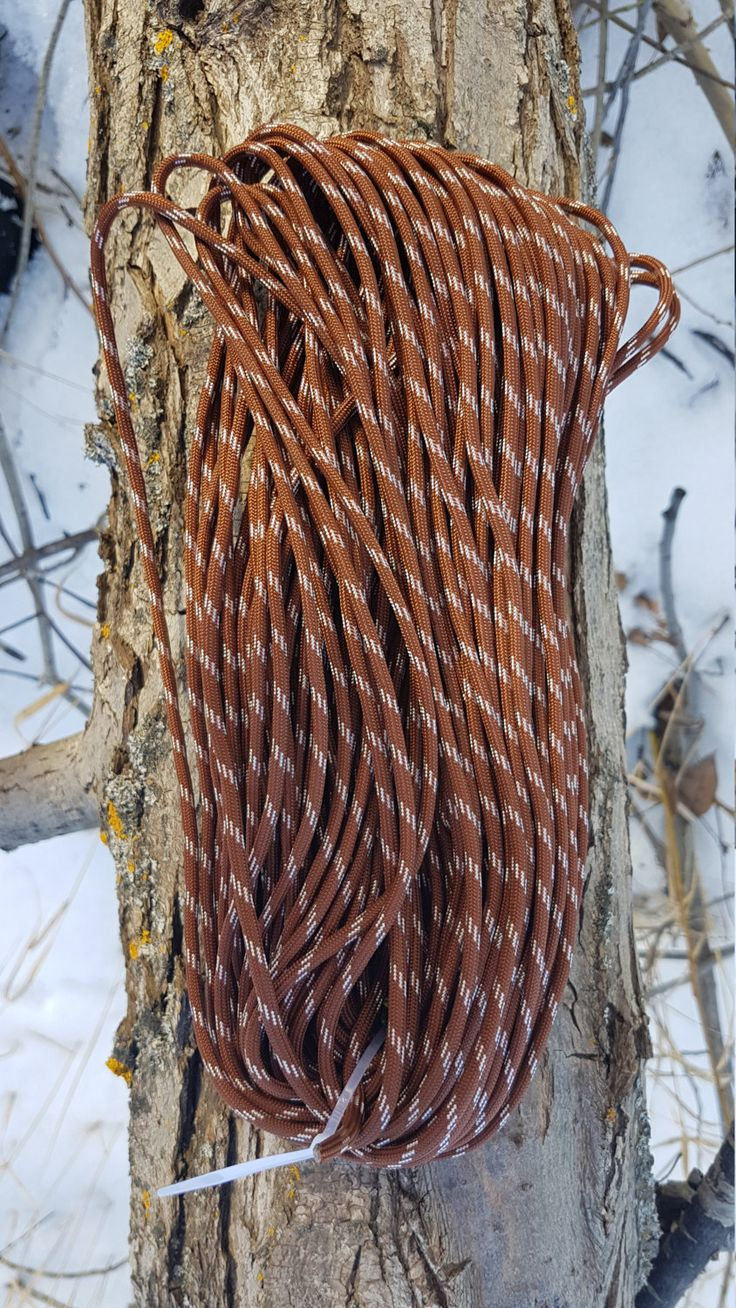 550 Paracord Type III 7 Strand Nylon Parachute Cord Made in the USA Pigsskin by BrodsParacord on Etsy