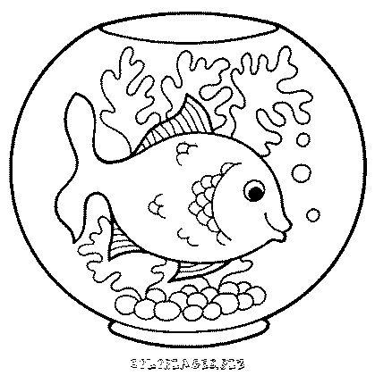 Coloriage de poissons coloriage poisson duavril coloriage de poissons coloriage poisson - Poisson a imprimer gratuitement ...