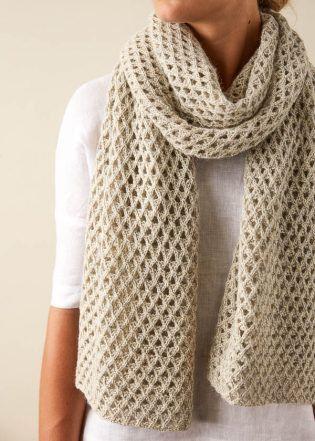 Aperture Wrap | Purl Soho | Knit Scarf + Shawl Patterns