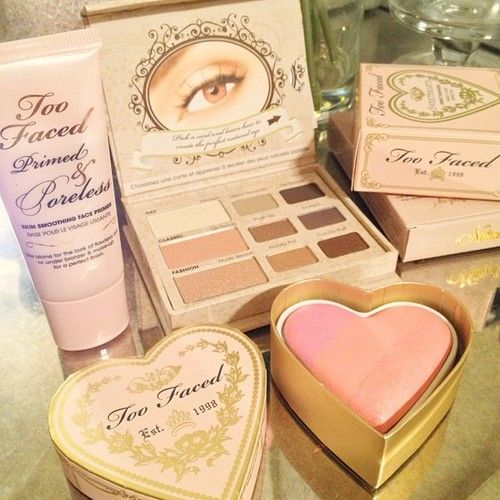 too faced makeup <_3 def got some on my ulta run yesterday and I love it :-)