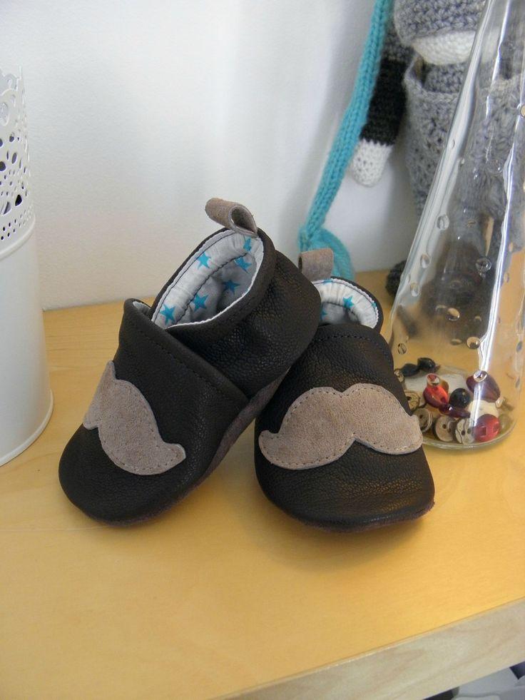 le secret de fabrication des petits chaussons en cuir de Coco : c'est (PAS) moi qui l'ai fait
