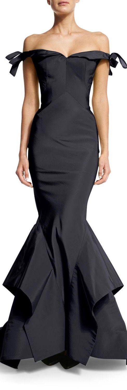 My Style:  #Gown, Zac Posen.