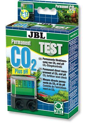 O JBL CO2 pH test permite a leitura permanente dos níveis de CO2 e pH, tornando-o um equipamento idealpara Aquascaping e aquários plantados.O equipamento coloca-se no interior do aquário lendo permanentemente os níveis de CO2 em mg/l (valor recomendado: 20-25 mg/l) e pH entre 6,4 e 7,8.O indicador deve ser renovado apenas a cada 3 a 4 semanas,sendo a quantidade fornecida no teste suficiente para 9 a 12 meses de medições.