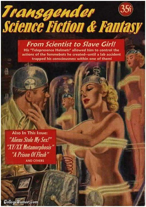 Transgender Science Fiction and Fantasy: Scifi, Comic Book, Tgsfandfjpg 492700, Science Fiction, 492700 Pixel, Pulp Magazines, Pulp Ish, Pulp Fiction, Magazines Covers
