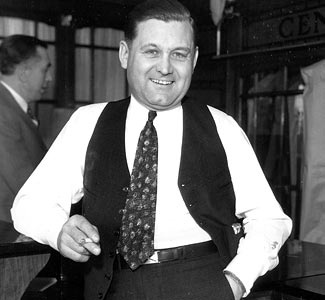 """George 'Bugs' Moran  His violent temper earned him the nickname """"Bugs""""-- gangster slang for """"completely insane."""" Moran waged a turf war over the control of his city Chicago, Illinois with his rival enemy, another prominent mobster al capone gangster."""