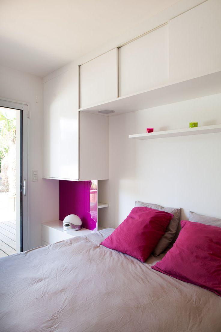 pont de lit pas cher lit avec tte de lit rangement sabil la redoute interieurs with pont de lit. Black Bedroom Furniture Sets. Home Design Ideas