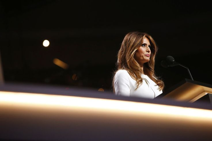 All the Different Things the Trump Campaign Said About Melania Trump's Speech - The New York Times