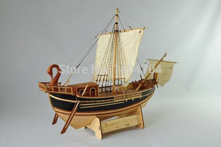 Classic Roman Empire Merchant Ship Model Scale 1 50 Roman