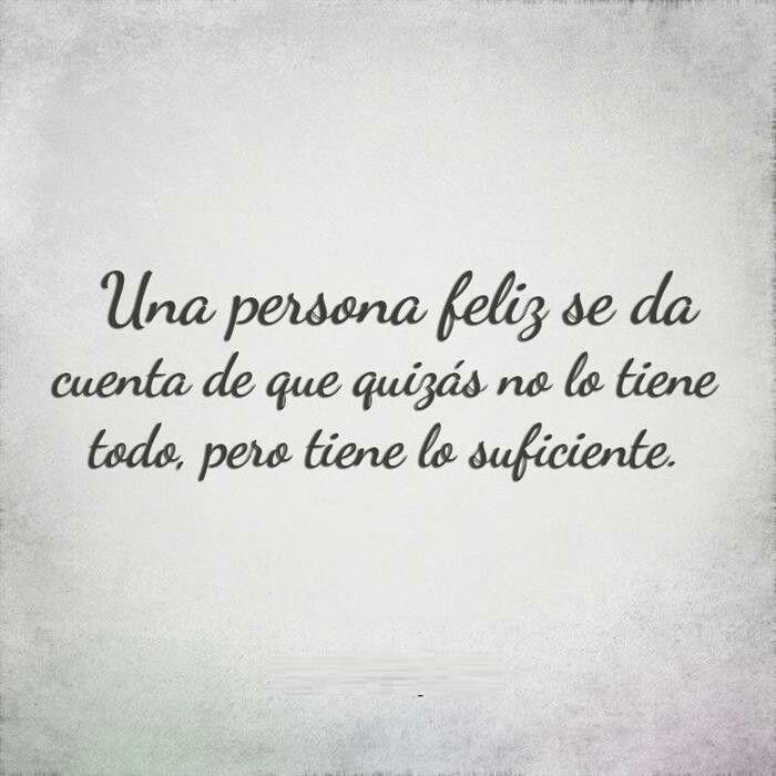 Una persona...