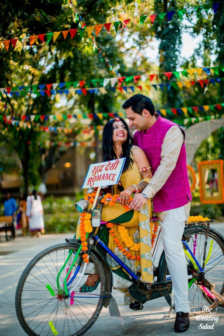 Mehendi Photo Booth | Photo by The Wedding Salad