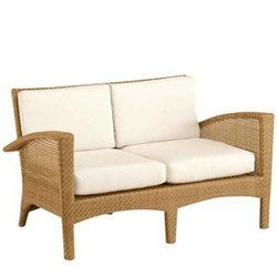 """Montego Bay Love Seat - Wicker Patio Furniture by Woodard. $1899.00. Visit our site for Cushion Color and Wicker Color options. W53.4""""xD31.3""""xH32.3"""". Wicker Love Seat. With its clean and immaculate look, The Montego Bay Collection offers a style and versatility that is suitable both indoors and out. Available in numerous dining set groupings and all of the necessary seating options, Montego Bay has a comfortable and uncluttered feel to it. The all weather wicker, woven over an al..."""