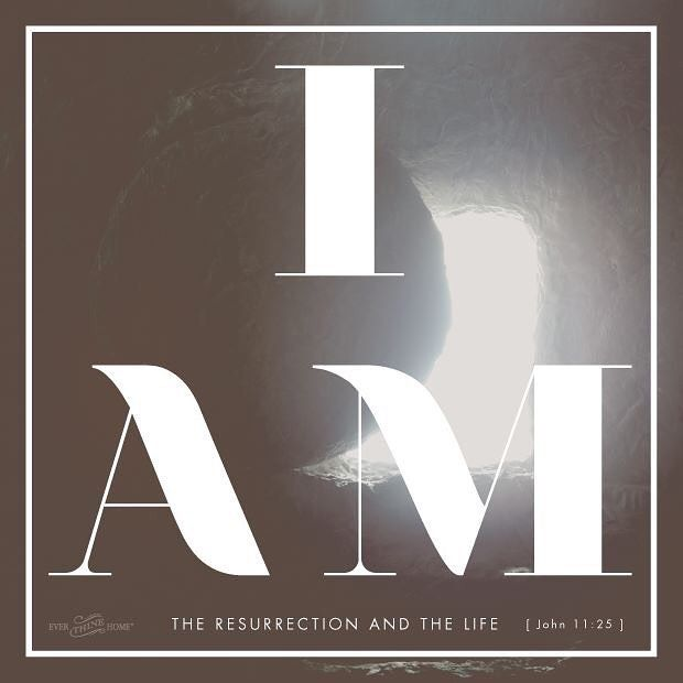 """Jesus said to her, """"I am the resurrection and the life. Whoever believes in me, though he die, yet shall he live and everyone who lives and believes in me shall never die. Do you believe this?"""""""" John 11:25-26  May you believe this and celebrate because He is Risen! Hallelujah!"""