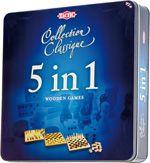 zestaw gier planszowych  5 w 1 (kolekcja klasyczna - Tactic) 117,80 zł