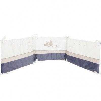 Tour de lit veloudoux Bao et Wapi (pour lits 60 x 120 cm et 70 x 140 cm)