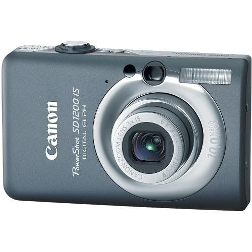 Canon PowerShot SD1200IS 10 MP Digital Camera with 3x Optical Image Stabilized Zoom and 2.5-inch LCD (Dark Gray), Best Gadgets