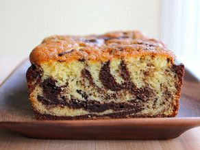 Marble Cake Recipe - Moist, Delicious Cake to Serve with Tea or Coffee