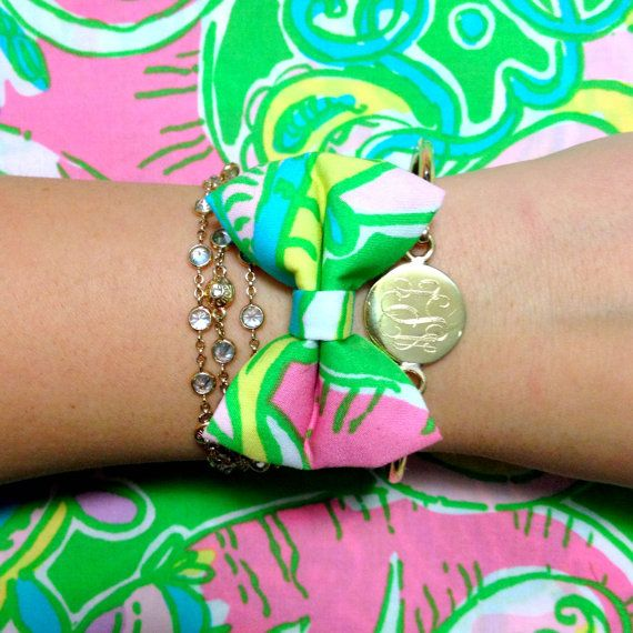 Lilly Pulitzer Chin Chin Bow Bracelet