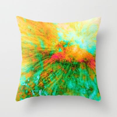 Dragon Fly by Greta Thorsdottir - Pillow from Society6