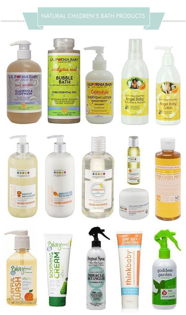 Earth Mama Angel Baby's products are some of the most natural on the market, and almost all their products score a 0 on the EWG website. We're currently using the Body Wash & Shampoo which I love because it comes in a big bottle with a pump, and it's foaming. I have an obsession with foaming soaps! via /hellobee/
