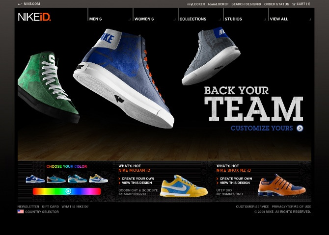 chaussure nike air create your own