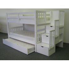 the ultimate condo of bunks & trundles $712: Idea, Built In, Bunk Beds, Kids Room, Kidsroom, Stairway Bunk, Bunkbed, Bedroom, Stairways