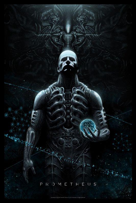 Mondo Unveils Marko Manev's Poster For PROMETHEUS