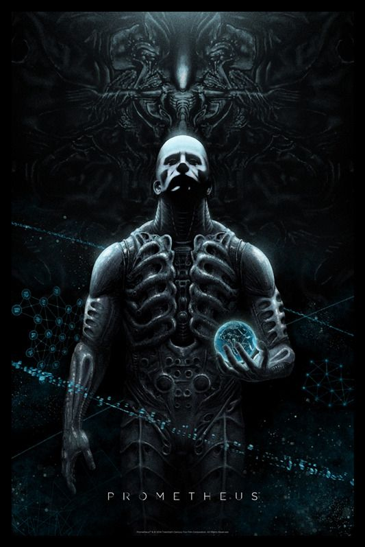 Mondo Releases Incredible New Prometheus Poster! | Prometheus Movies
