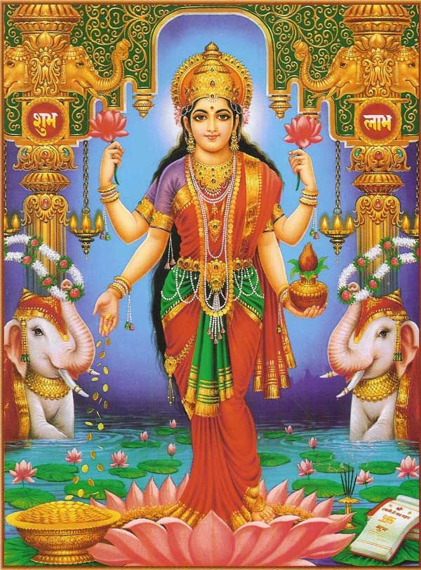 Hindu Goddess Lakshmi Discover more about your past lives at http://www.soullightpath.com/past-life-regression/