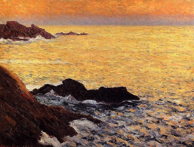Maxime Maufra / The Golden Sea - Quiberon