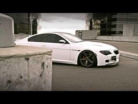 BMW 645 with CV3 Vossen - YouTube