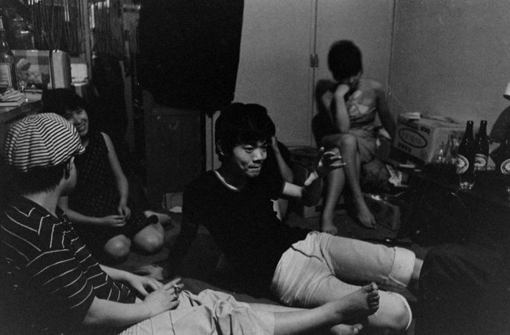 TEENAGE WASTELAND: JAPANESE YOUTH IN REVOLT, 1964 — Michael Rougier — Not published in LIFE. Japanese youth, Tokyo, 1964.