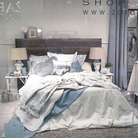 Zara Home Bedroom Sea Style