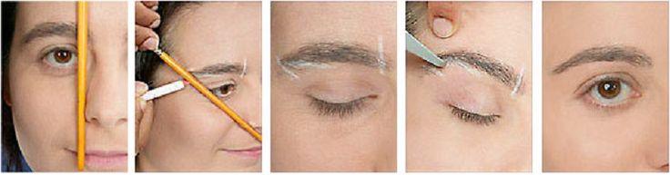 7 советов как сделать идеальные брови
