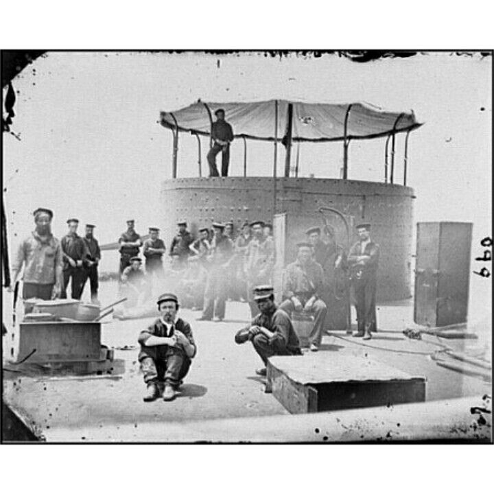 USS Monitor Crew Picture.