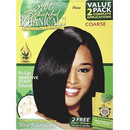 Soft & Beautiful Botanicals No-Lye Sensitive Scalp Relaxer Coarse - 2 Applications $8.95   Visit www.BarberSalon.com One stop shopping for Professional Barber Supplies, Salon Supplies, Hair & Wigs, Professional Product. GUARANTEE LOW PRICES!!! #barbersupply #barbersupplies #salonsupply #salonsupplies #beautysupply #beautysupplies #barber #salon #hair #wig #deals #sales #Soft&Beautiful #Botanicals #NoLye #Sensitive #Scalp #Relaxer #Coarse