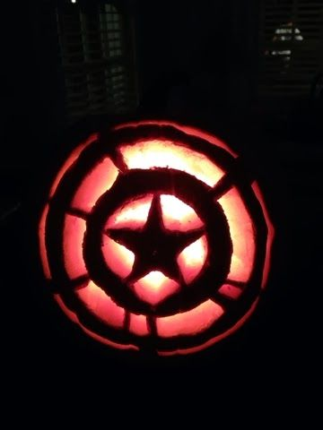 captain america pumpkin stencil | Back > Gallery For > Captain America Pumpkin Carving Stencils