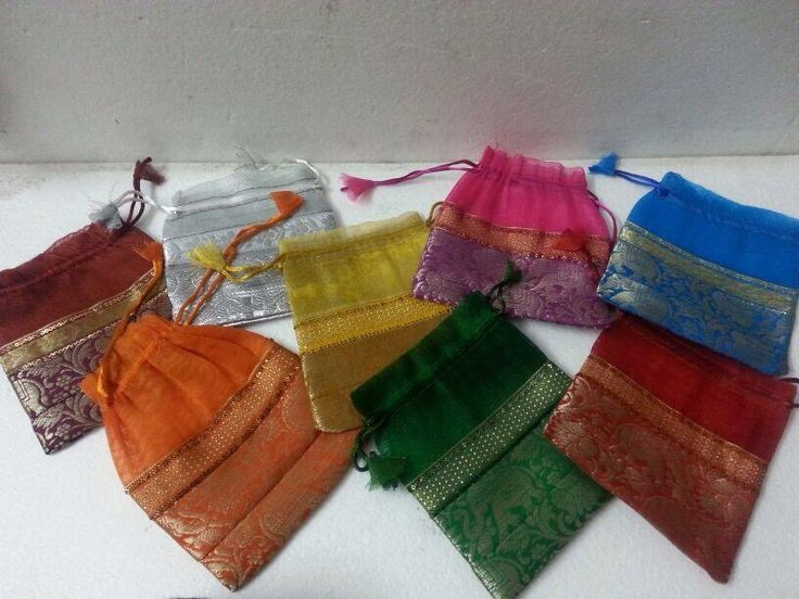 Mehndi Party Bags : Best gift bags potli style images