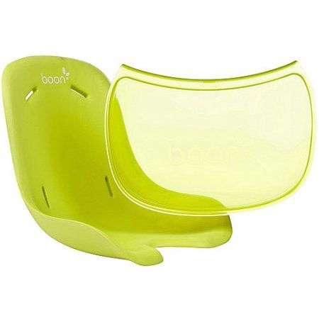 Boon Flair Seat Pad & Tray Liner Combo, Green