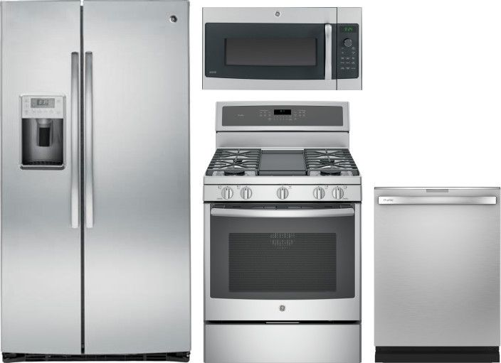 Ge Profile Gereradwmw103418 Kitchen Appliance Packages Kitchen Appliances Built In Microwave