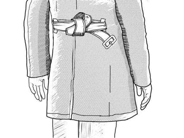 Совет: Как завязывать пояс на тренче — FURFUR — FURFUR — поток «Советы»
