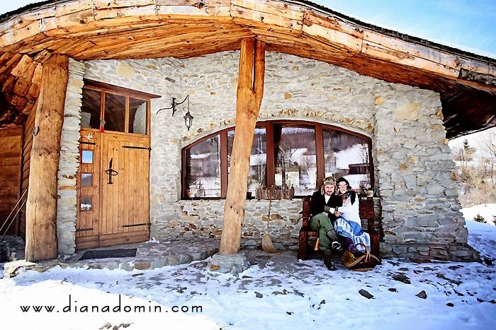 Na gęsim zakręcie...  Gęsi Zakręt | polish mountains | bieszczady | winter | interesting architecture | Poland |