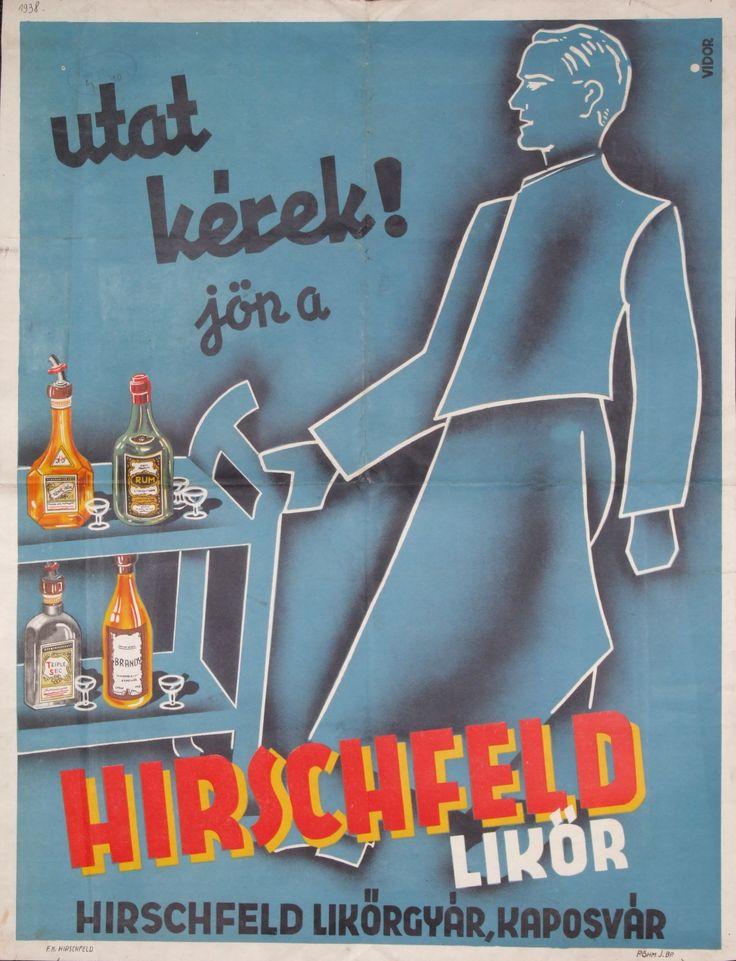 Utat kérek! Jön a Hirschfeld likőr , 1938