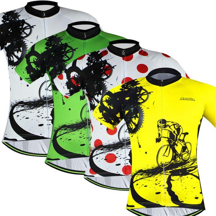 Bike đội 2016 Phụ Nữ/tops Men Xe Đạp jersey/short sleeve bike quần áo mùa hè phong cách/Xe Đạp Quần Áo Màu Vàng/xanh/Vàng/Đỏ