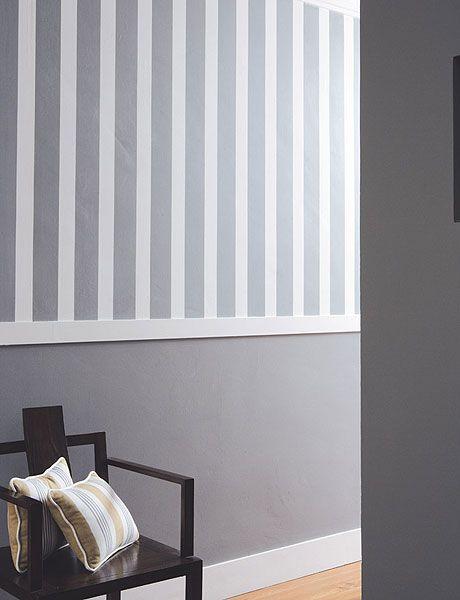 Pintar paredes desde la mitad hasta el suelo | Decorar tu casa es facilisimo.com